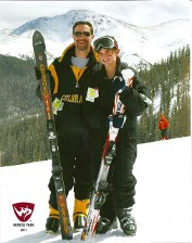 Skiing at Winter Park, CO with daughter.